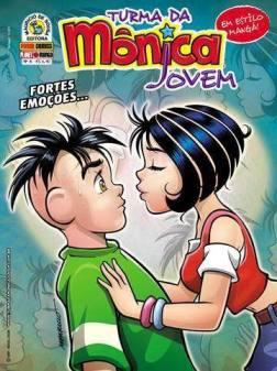 [Quadrinhos] Turma da Mônica Jovem   Edição 4   Fortes Emoções
