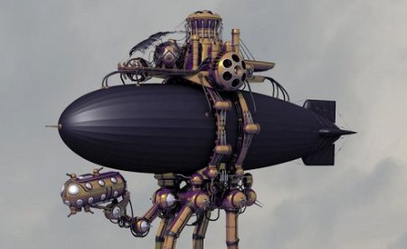 Steampunk_zepelin